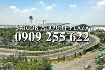 BÁN CH 1PN CÓ NỘI THẤT, DT 59M2 SÀI GÒN AIRPORT PLAZA GIÁ TỐT NHẤT DỰ ÁN. HOTLINE PKD 0909 255 622