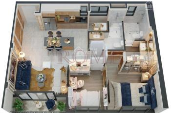 Bán căn hộ góc - 2PN - view hồ bơi - quận 2 - giá 4.9 tỷ