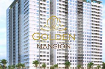 Ban quản lý bán CH Golden Mansion, hỗ trợ bank 70% thiết kế 1PN 50m2, 2PN 70m2, 3PN 85m2 0986092767