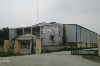 Công ty Hoàn Thiện cho thuê xưởng DT: 500m2, 1000m2, 1500m2, 2000m2, 3000m2 cụm CN Thường Tín, HN