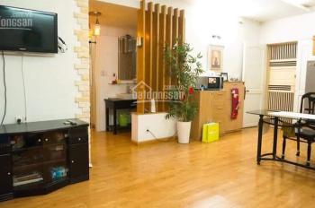 Bán căn hộ sàn gỗ nhà cực đẹp tại Khánh Hội 2, mặt tiền Bến Vân Đồn, Quận 4. Căn góc 83m2 - 2 PN