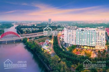 Căn hộ sân vườn duplex 2 tầng mặt tiền hàng cọ  KDC Trung Sơn, nhận nhà ở ngay-CK 6%. LH 0942121235