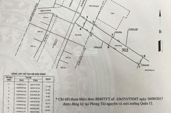 Bán nhà mặt tiền Hà Huy Giáp. DT: (4.5 x 35)m2 (156.3)m2 đất ở: (84,7)m2, giá: 7.2 Tỷ
