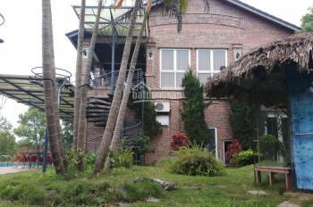 Bán biệt thự nhà vườn hoàn thiện diện tích 5200m2, có 400m2 đất ở rẻ tại Lương Sơn, Hòa Bình