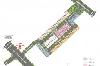 Đất nền 2 mặt tiền quốc lộ 13, liền kề Aeon Mall, UBND Thuận Giao, 0934040703