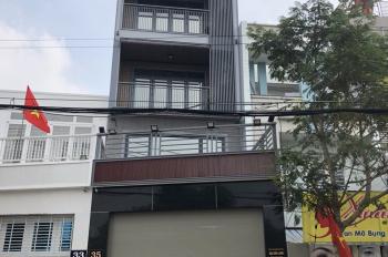 Cho thuê nhà mới 1 trệt 4 lầu đường Nguyễn Lương Bằng nối dài đối diện chợ Phước Long, P.Phú Mỹ, Q7
