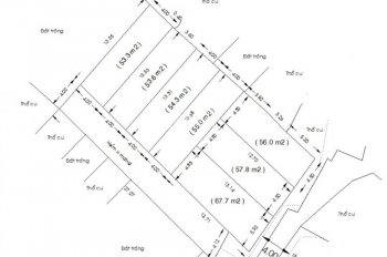 Bán 535m2 Lê Đức Thọ, P15, Gò Vấp hẻm 6m xe hơi phân 7 nền sau khu vip Sài Gòn Coop, giá 20.5 tỷ