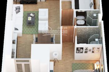Chính chủ cần bán căn hộ 2506, DT 70m2 Tháp Doanh Nhân, Hà Đông, giá 1.4 tỷ