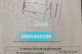 Cần bán đất 2 lô liền kề mặt tiền đường Nguyễn Hữu Thọ, vỉa hè 6m