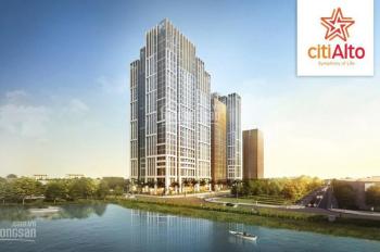 5 suất nội bộ căn hộ tầng lửng Citi Alto Quận 2, 80m2 3PN 2WC giá tốt nhất dự án. 0961 881 656