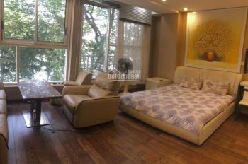 Cho thuê căn hộ dịch vụ tại Đường Thanh Niên, Ba Đình, 45m2, 1 phòng ngủ, full đồ, 13 triệu/tháng