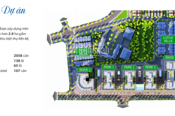 Cần bán lô shophouse mặt đường Trường Sa dự án Eurowindow River Park gấp