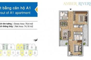 Amber Riverside 622 Minh Khai: Thông tin chính xác, cam kết không chênh giá gốc CĐT. LH: 0984812891