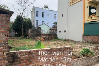 Đất chính chủ Vân Nội, Đông Anh, Hà Nội, DT: 212m2