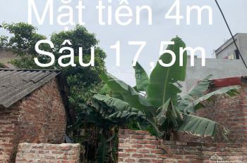Đất Vân Nội, Bìa Làng, thanh khoản cao, DT: 71m2 sổ đỏ chính chủ