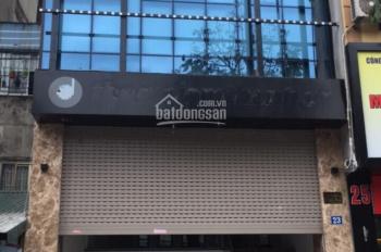 Cho thuê nhà mặt phố Ô Chợ Dừa 140m2 x 6 tầng, MT 5.5m, thông sàn, có hầm và thang máy đẹp nhất phố