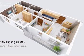 Chính chủ kẹt vốn bán gấp căn 75m2, 3PN, dự án Osimi Tower Gò Vấp đã bàn giao, giá chỉ 2.3 tỷ
