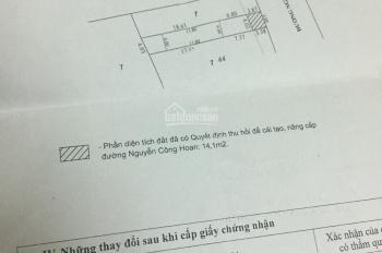 Bán nhà mặt tiền Nguyễn Công Hoan 115m2