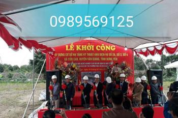 Đất dịch vụ liền kề Cửu Cao - Phụng Công - Văn Giang- Hưng Yên