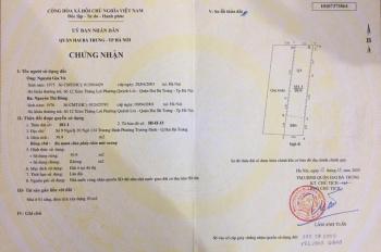 Gia đình cần bán nhà riêng tại ngõ 134 Trương Định, có thể ở luôn giá tốt. LH tôi CC Vũ: 0912621275