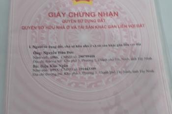 Bán đất ấp Bình Lương, Châu Thành, Tây Ninh.DT: 1885m2,Giá 600tr.Lh:0357273275