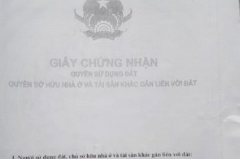 Tôi cần bán đất có nhà tạm thuộc kiệt Hàm Nghi, Phường 2, TP Tuy Hòa