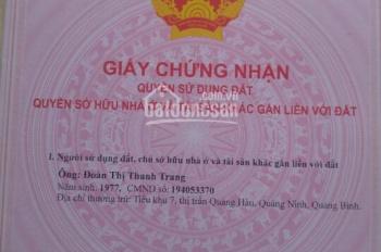 Nhận ký gửi và mua, bán đất nền dự án ở KDC Vĩnh Phú 2, đã có sổ hồng, thổ cư 100%, ĐT: 0902896415