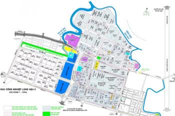 Cho thuê đất kho xưởng khu công nghiệp Long Hậu từ 5 nghìn/m2/Tháng