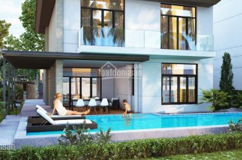 Biệt thự Cam Ranh Mystery ven biển Bãi Dài sổ hồng, hồ bơi riêng LN 1tỷ/năm full NT LH 0908207092
