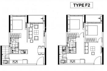 Celadon City bán căn 1PN, 1WC, 53m2, chỉ thanh toán 89tr có nhà, trả chậm đến 2021. LH 0902611882
