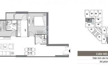 Chỉ 1,148 tỷ có ngay căn hộ 66,3m2 chung cư Mipec Kiến Hưng, ký HĐ trực tiếp CĐT. LH: 0944960234