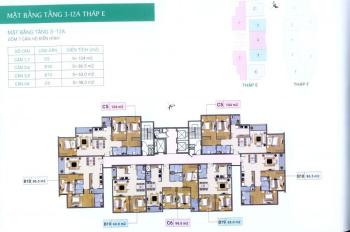 Bán căn hộ chung cư Trung Ương Đảng tầng 802 DT 86m2, bán 20.5tr/m2 (bao tên sổ đỏ). LH 0983072573