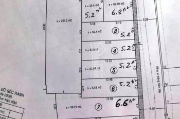 Bán đất hẻm 8m, Phường Tân Hưng Q7. DT 4x13m, DT 4,5x13m DT 4x18m, DT 4x20m, 4,5x20m. Giá 5.2-6.2tỷ