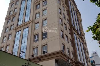 Cho thuê tòa nhà chính chủ mặt tiền đường CMT8, gần CLB Lan Anh Q. 3, DT 14x28m, hầm, trệt, 9 lầu
