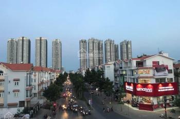 Cho thuê văn phòng mặt tiền Hoàng Quốc Việt, 10x30m, 4 tầng, đường rộng 35m. Giá 115 triệu/tháng
