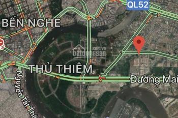 Bán lô đất góc 2 mặt tiền đường Số 2, P. Bình Khánh, Q. 2 giá rẻ 167tr/m2, LH anh Tiến 0903956227