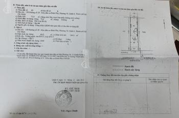 Bán nhà Nguyễn Văn Luông, P10, Q6, DT 3,7m NH 6 10m, tổng DT 46.9m2 cách đường Nguyễn Văn Luông 20m