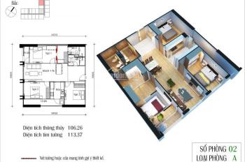 Bán lại căn hộ 04 CT2 Eco Green City đẹp nhất dự án, full nội thất