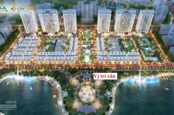 Chính chủ cần bán lại căn view hồ Town 8 shophouse Khai Sơn City Long Biên - 0944111223