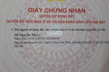 Bán nhà tập thể gần trung tâm Hà Nội