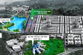 Sắp mở bán siêu biệt thự mặt công viên đầu tiên đường Phước Lý 16, giá chỉ từ 28tr/m2