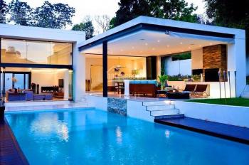 Cho thuê biệt thự có hồ bơi Phú Mỹ Hưng. Nhà thiết kế hiện đại 350m2, call 0977771919