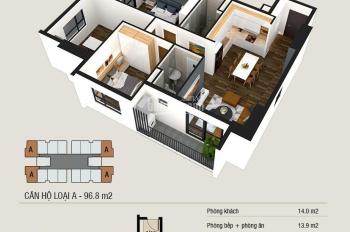 Chỉ từ 1.7 tỷ sở hữu ngay căn hộ 3PN mặt đường Đại Lộ Thăng Long lãi suất 0%, LH 0972461892