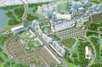 Cho thuê văn phòng Sari Town, khu Sala Quận 2, 342m2 giá 69.45 triệu/tháng. Được phép lưu trú