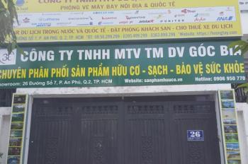 Cho thuê mặt tiền An Phú An Khánh, Q2, tầng trệt 5x10m, 50m2. VP kinh doanh TMDV