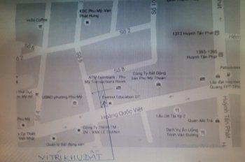 Bán lô đất diện tích 132m2 mặt tiền đường Hoàng Quốc Việt, Phường Phú Mỹ, Quận 7. Giá 15.84 tỷ
