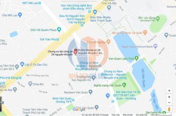 Chính chủ nhờ bán căn góc tầng 9 DT 66.6m2 chung cư BCA 24 Nguyễn Khuyến chênh thấp, LH 0975617928