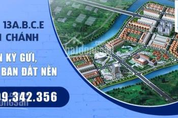 Bán đất dự án 13A Hồng Quang, DT 100m2 giá 23tr/m2. LH: 0909 342 356