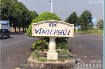 Đất dự án Vĩnh Phú 1, Thuận An, Bình Dương, 6x22m. giá 15tr/m2, Sổ hồng riêng. L0h 947 165 479 Tứ