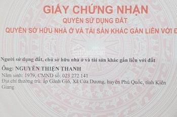 Đi nước ngoài bán gấp 2 lô mặt tiền đường Ba Trại - Phú Quốc - LH 0385.776.229